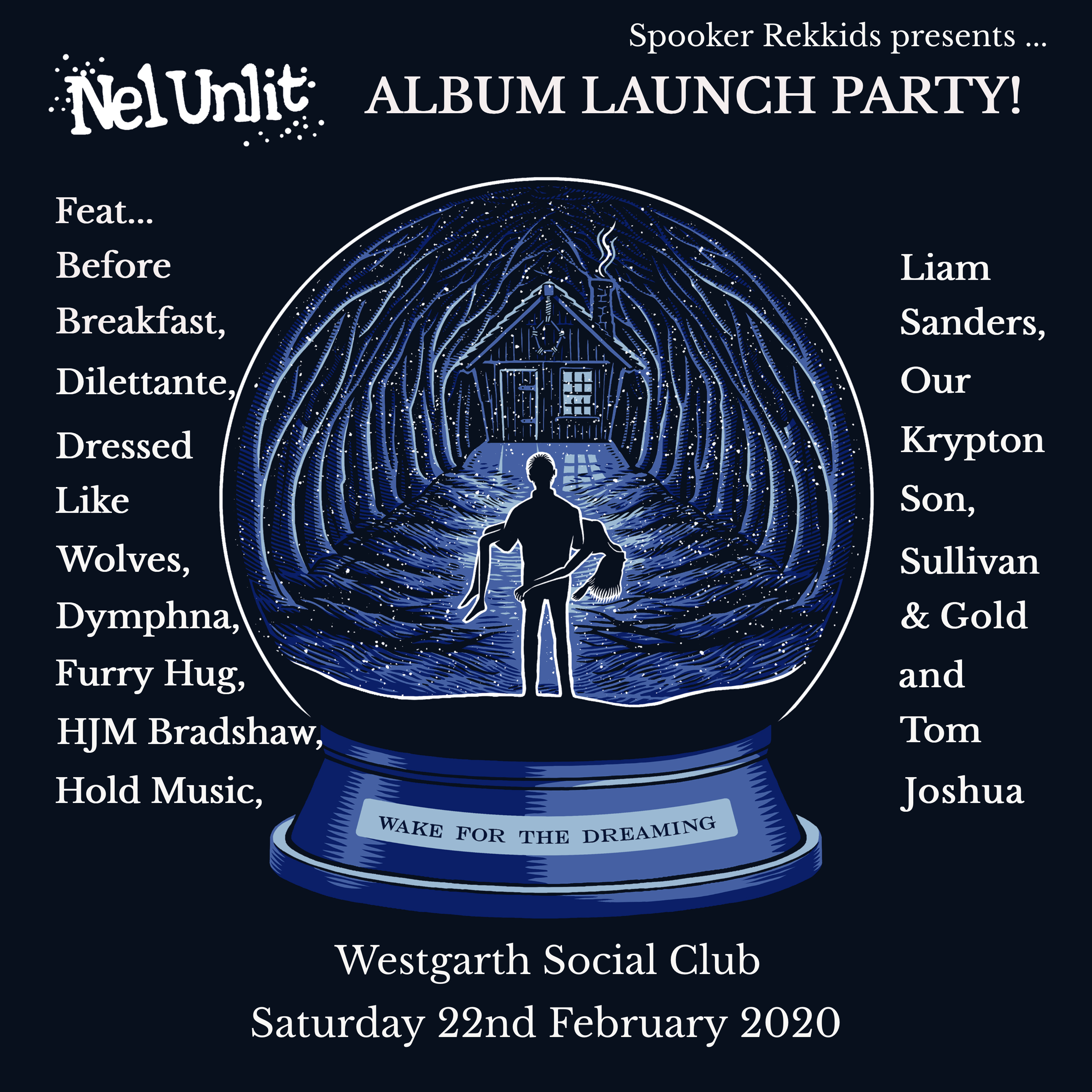 Nel final album launch party poster